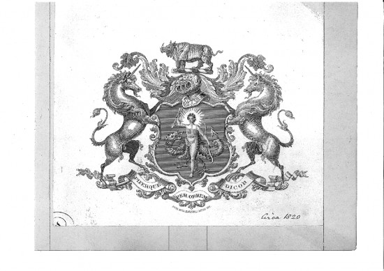 coat of arms 1820