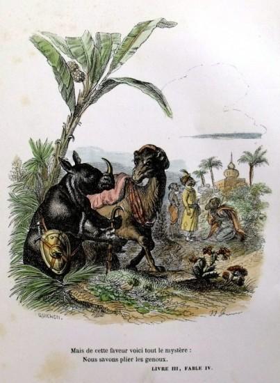 GRANDVILLE FABLES 1842