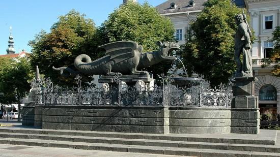 The Klagenfurt Lindwurm