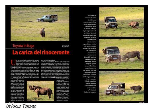 La carica del rinoceronte (by Paolo Torchio)