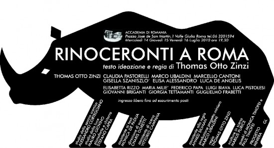 """Rinoceronti a Roma"""