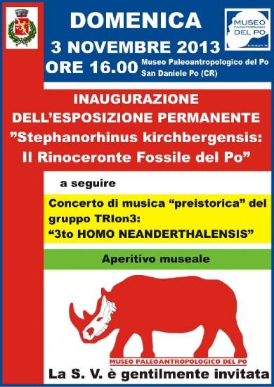 Stephanorhinus kirchbergensis: il rinoceronte fossile del Po