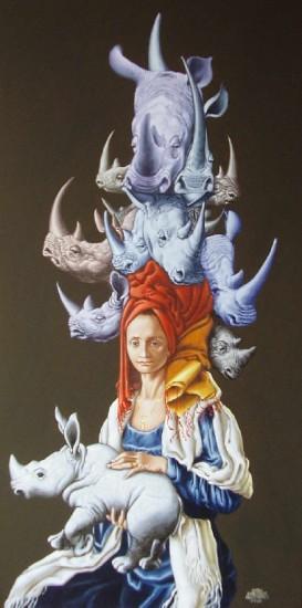 La dama dei rinoceronti