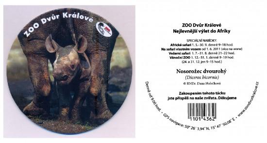 A Dvur Králové Zoo coaster