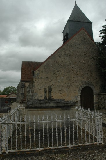 Levaillant's grave