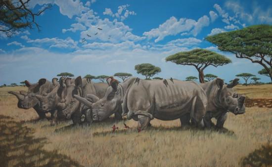 Last Northern white rhinos