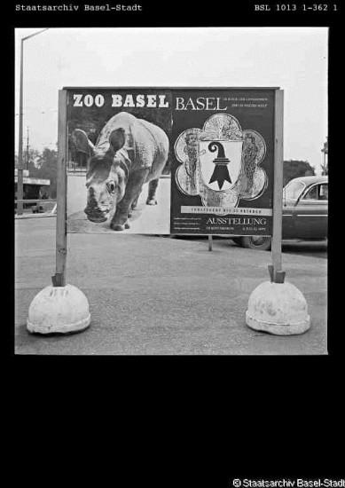 Basel Zoo poster