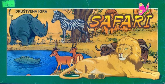 """Safari"", a Serbian game for children"