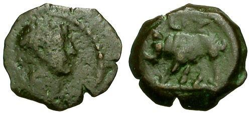 Roman coin 113 AD