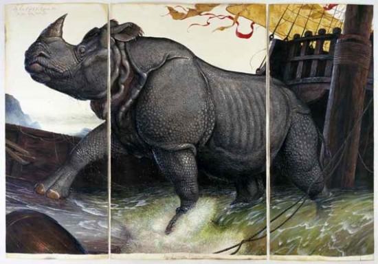 Loss of the Lisbon Rhinoceros