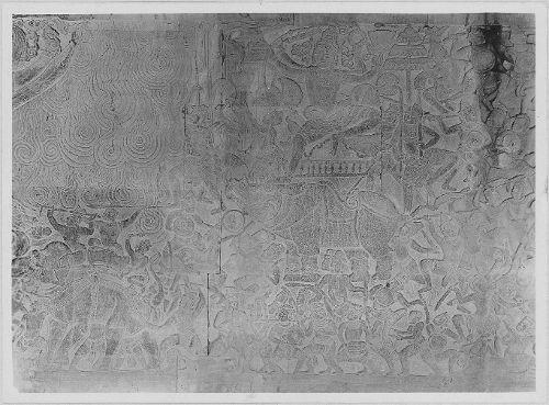 Relief in Angkor Vat