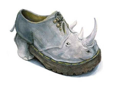 An original shoe