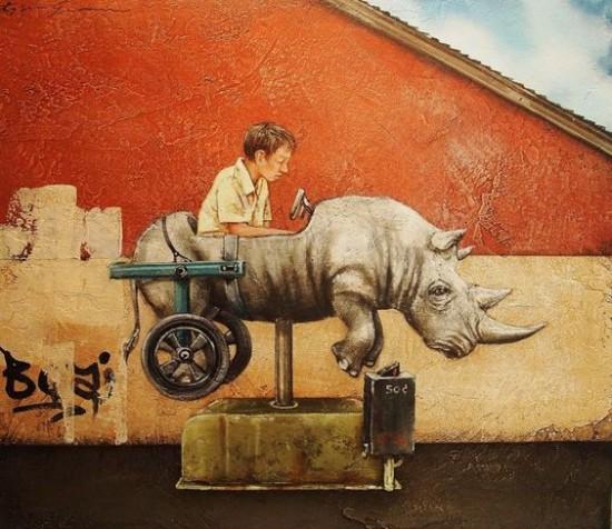 Rhino cart