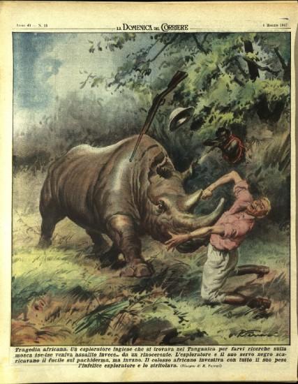 Rhino mishap 1947