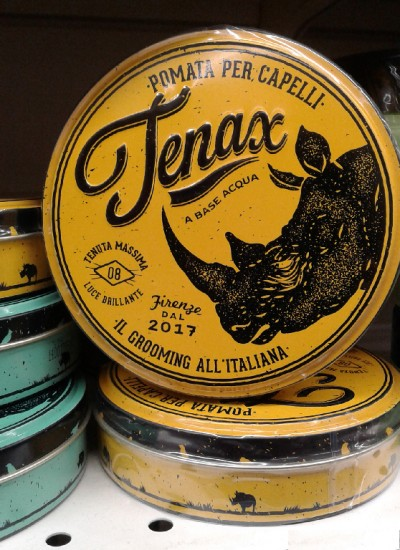"""""""Tenax"""" Hair Pomade made in Florence"""