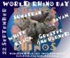 World Rhino Day 2014