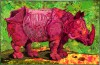 A Rhinoceros indicus like the one by D�rer
