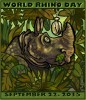 World Rhino Day 2015