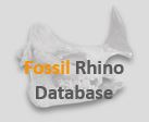 Fossil Rhino Database